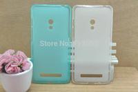 Free shipping 20pcs transparent matte tpu case cover for Asus zenfone 5 excellent quality different colours
