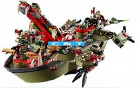 Bela Building Blocks Ninja Ninjago Cragger's Command Ship Construction Educational Bricks Toys for Children Compatible Bricks