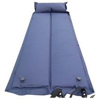 Outdoor moisture pad inflatable mattress  can be folded double stitching inflatable cushion
