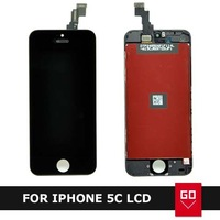 For Iphone 5C LCD Display With Touch screen Digitizer Assembly Black & white color  + repair Tools 10pcs/lot via DHL