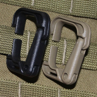 Mouth buckle tactical outdoor plug steel carabiners Moli Deng hill fast hang buckle D carabiner keychain