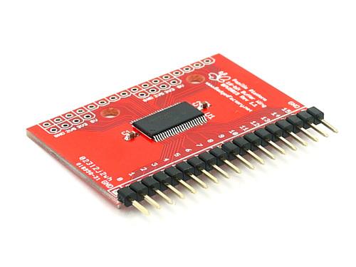 Logic Sniffer 16bit Input Buffer Wing A 16-bit 5V tolerant input-only buffer for the Open Logic Sniffer logic analyzer THM110D2P(China (Mainland))
