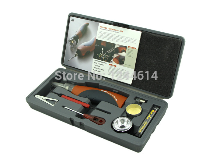 Cordless Battery - Battery powered Soldering Iron Kit battery-powered dual function portable soldering iron(China (Mainland))