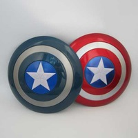 Super Heroes the avengers Movie Model Captain America Shield with Sound and LED light PVC Action Figures dolls toys for children