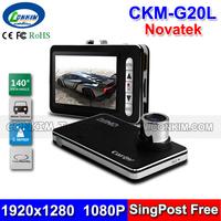 "Cheap Car DVR CKL-G20L Novatek Chip 2.7"" LCD 140 Degree Wide Angle G-sensor Motion Detect 1920x1080 25FPS HD Car Video Recorder"