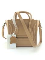 20CM Designer Mini Nano Bag / Classic Women Trapeze Bag / Original Cow Leather Material Nano Bag With Shoulder Strap (LTG372)