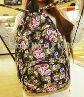 Hot Sell Casual School Bag High Quality Female Bags Canvas Cartoon Backpack Animal Print Owl Backpack BP-002
