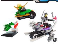 Bela Building Blocks Ninjago Ninja Super Bo Attacks Construction Educational Bricks Toys for Children Compatible Free Shipping