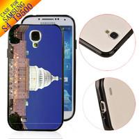 Free Ship TPU+PC Rubber Designer Case hard back cover  for Samsung Galaxy S4 SIV I9500 WASHINGTON DC ZC0131