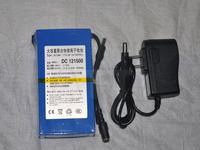 12V 15000mAh Rechargeable Li-ion Lithium Battery super Rechargeable Li-ion Battery+1A charger