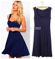The new summer manufacturers selling slim slim Hepburn little black strap dress dress female