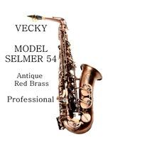 VECKY C311  Antique red copper  alto saxophone design from SELMER 54 Professional level