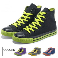 2014 Fashion Classic Woman Mans Sneakers Woman Canvas Man Shoes Colorful Sneakers