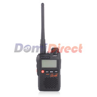 Populor Mini Pocket Two Way Radio Ultra-Compact Dual Band Transceiver  BAOFENG UV-3R Walkie Talkie With Free Earphone