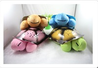 Novelty Turtle Night Light with Music Function, Four Colors Selection