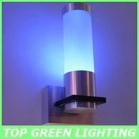 New LED Wall Lamp 1W LED Wandlamp Applique Bathroom Light Bed Lamp LED Wandleuchte 1W 110V 220V 230V 240V Red/Blue/Green/Yellow