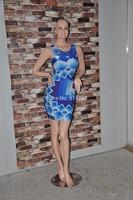 2014 New Desigual Women Clothing Fashion Summer Casual Dresses Lady Vestidos