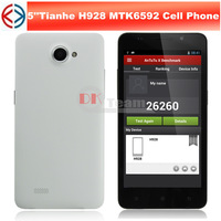 Star  H928 MTK6592 1.7GHz Octa Core 5.0 Inch HD IPS Screen Android 4.2 3G Smart Phone 3MP/12MP Camera 1GB/8GB GPS OTG