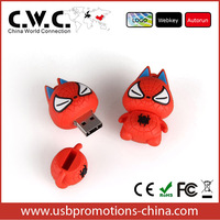 8GB Baby Spider Cat Novelty Cute Pussy Cartoon Gift Doll Figure USB 2.0 High Speed Silicon Flash Memory Pen Drive Disk Stick
