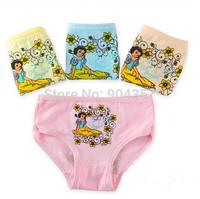 Wholesale Cotton Girls Panties Snow White Flower Underwear Briefs Underpants Kids Cartoon Shorts Pants Boxer