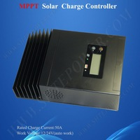 CE certificate ,12/24V auto work 50A MPPT solar charge controller , Max Solar input voltage 150V DC