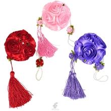 popular purple rose balls