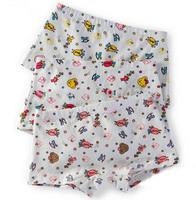 Wholesale Cotton Girls Panties Bear Lamb Chicken  Underwear Briefs Underpants Kids Cartoon Shorts Pants Boxer