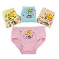 Wholesale Cotton Girls Panties Princess Baby Girl Flower Pants Colorful Briefs Triangle Cotton Underpants Shorts Pants Boxer
