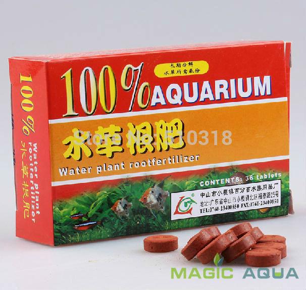 Aquarium Fish Tank 36tab Root Fertilizer for CO2 Water Plant Free Shipping(China (Mainland))