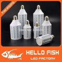 new 2014 5730 SMD 6w 9w 11w 15w 18w 25w 32w 40w LED lights E27 220V/110V lamps Corn Bulb  Freeshipping