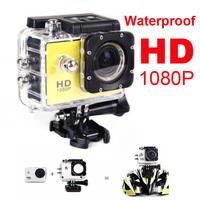 Extreme Sport Mini Action Camera Diving 30 Meters Waterproof HD 1080P Waterproof DVR Camera camcorder SJ4000 car camera gopro
