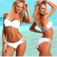 New Fashion Band Swimsuit Sexy Women Bikini sets Push up Swimwear Swimming Swim wear (140340)