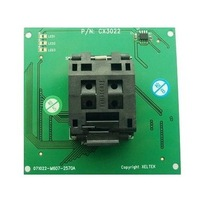 DX3022 / CX3022  PQFP100 ZIF Socket Adapter for SP6100/SP6000/5000 ***Price can be adjust pls contact before pay