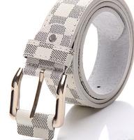 New hot fashion belt 2014 brand Faux leather belt mens buckle belts for women unisex factory sale free shipping B172
