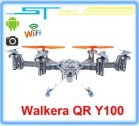 Walkera QR Y100 FPV Wifi Aircraft UFO RC Quadcopter Drone helicopter with camera brushless motor VS dji phant battery helikopter