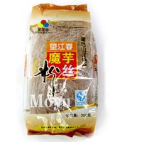 600g shirataki Genuine recommend healthy and delicious Amorphophallus konjac noodles konjac face fans noodles