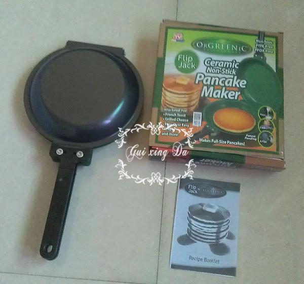 50Pcs\Ctn Wholesale Orgreenic cake pan maker ,Pancake Maker ,Cooker Flip Pan,Cooking tools As Seen On TV(China (Mainland))
