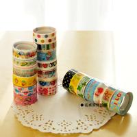 Multicolour cartoon tape diy rubberized paper doodle transparent tape