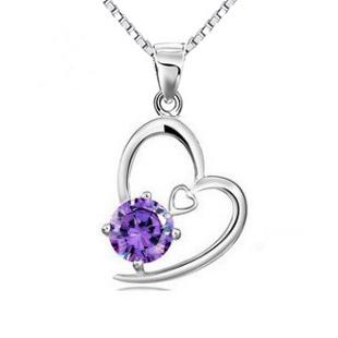 Accessories zircon hearts and arrows dcrv pendant zircon necklace g009 cupid
