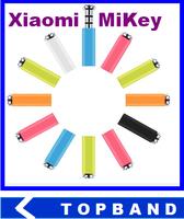 5pcs/lot Original Xiaomi MiKey mi key Klick quick button dustproof plug Earphone Jack Plug for XIAOMI Mi2s Hongmi MI3 phone