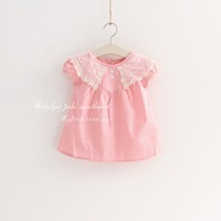 New 2014 children blouse  girls  princess shirt  lace blouse  kids girls shirts  free shipping