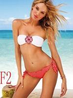 New Models 3 colores Hot Sex Bikini Young Girl Swimwear Push up Black Womens Swimwear Beach Swimsuit Suit SML Bikini