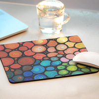 Hot Design Multi-element Rubber Anti-slip Mousepad Computer Mouse Pad Mat For Optical Laser Mice Trackball Mouse