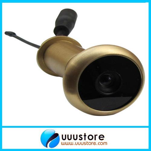 0.008Lux 5.8G 90 degree view angle Wireless Door Peephole Camera,Micro home security hidden wireless camera TE50 100m range(China (Mainland))