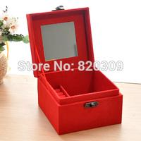 Portable jewelry box wood jewelry box princess dressing birthday gift bags