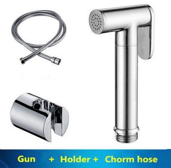 Медь ванная комната опрыскиватель комплект пистолет латунь биде опрыскиватель комплект
