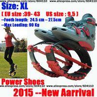 NEW HOT Wholesales Kangaroo Jumping Shoes Bounce shoes Red and Blue color available  kangoo jumps