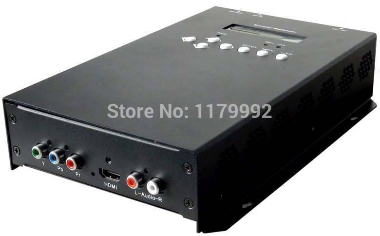 REM7521M HDMI Ybpbr to ISDB-T Digital TV headend MPEG-2/H.264 HD Encoder Modulator with AAC Audio encoding(China (Mainland))