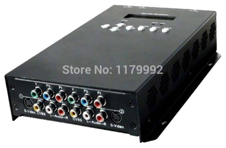 Digital TV CVBS to DTMB TWO Channel SD Encoder Modulator mpeg-2 video encoding REM7502M-D(China (Mainland))