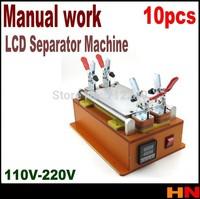 10pcs wholesale  Professional LCD Separator Machine, Retail Lcd phone Screen Repair Machine   110V 220V